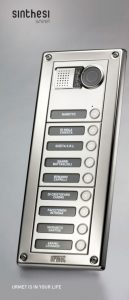 Urmet Sinthesi Steel: la nuova pulsantiera ad elevata resistenza