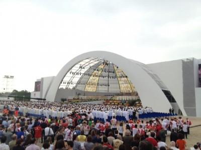 Calcestruzzi, un palco speciale per Benedetto XVI