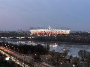 Il nuovo stadio di Varsavia. Foto © Marcus Bredt