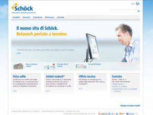 Schöck migliora la sua presenza online a livello internazionale