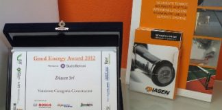 Diasen si aggiudica il Good Energy Awards 2012