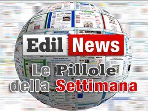 Debutta Edil News, una settimana di edilizia in pillole