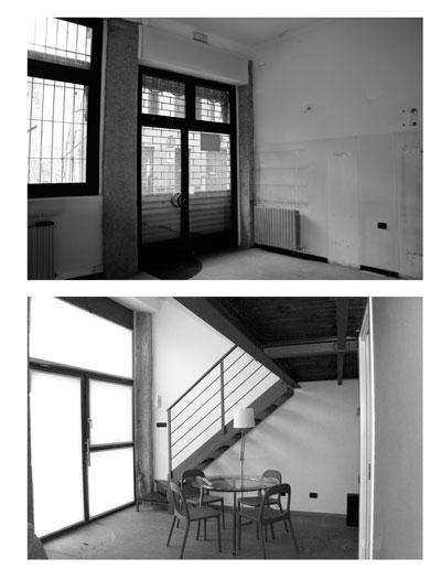 Lavori in casa trasformazione dei piani terra e for Piani di casa in collina con garage sottostante