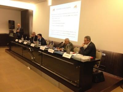 Edifici NZEB: una foto dei relatori che hanno partecipato alla tappa di Roma del Road Show Edifici 2020