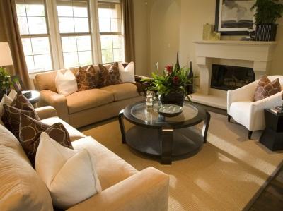 Una foto con un esempio di Home Staging