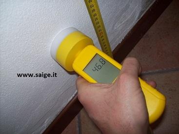 Il rilievo dielettrico dell'umidità nei muri