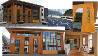 Verso una condivisione della definizione di Edifici a Energia Quasi Zero: Edificio Naturalia bau, uno dei primi esempi di NZEB nel contesto italiano (Fonte: Napolitano, Lollini, Avesani, Sparber)