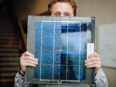 Le piste ciclabili fotovoltaiche avranno questo aspetto.
