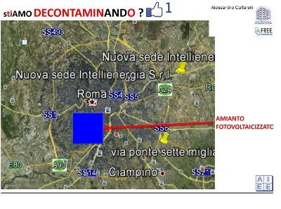 Rimozione amianto e sostituzione con fotovoltaico a Roma
