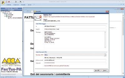 software fatturazione elettronica invio PEC