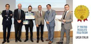 URSA Italia vince il terzo premio assoluto new media parola d'impresa