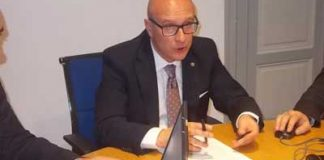 Il nuovo presidente dei Geologi italiani, Francesco Peduto