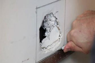 riparare il cartongesso Come riparare il cartongesso