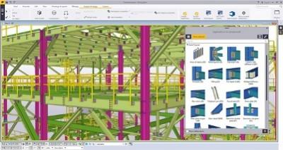 La nuova versione di Tekla Structures consente un utilizzo più efficiente delle informazioni del modello