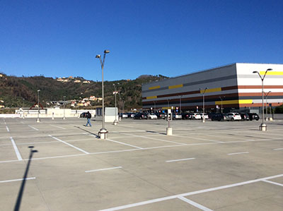 Risanamento del parcheggio del Centro Commerciale di La Spezia