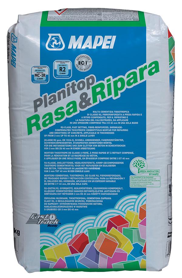 Rasatura e Ripristino del calcestruzzo con un solo prodotto: Planitop Rasa&Ripara