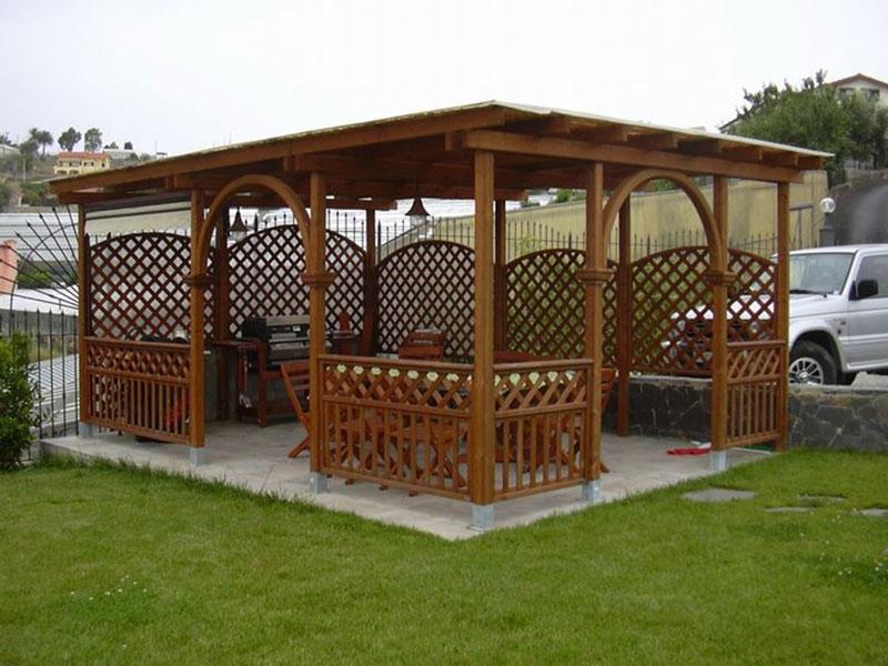 Gazebo da giardino differenze dal pergolato e titolo abilitativo necessario - Pergola giardino ...