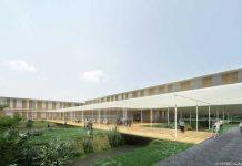Campus universitario di Lodi progettato da Kengo Kuma