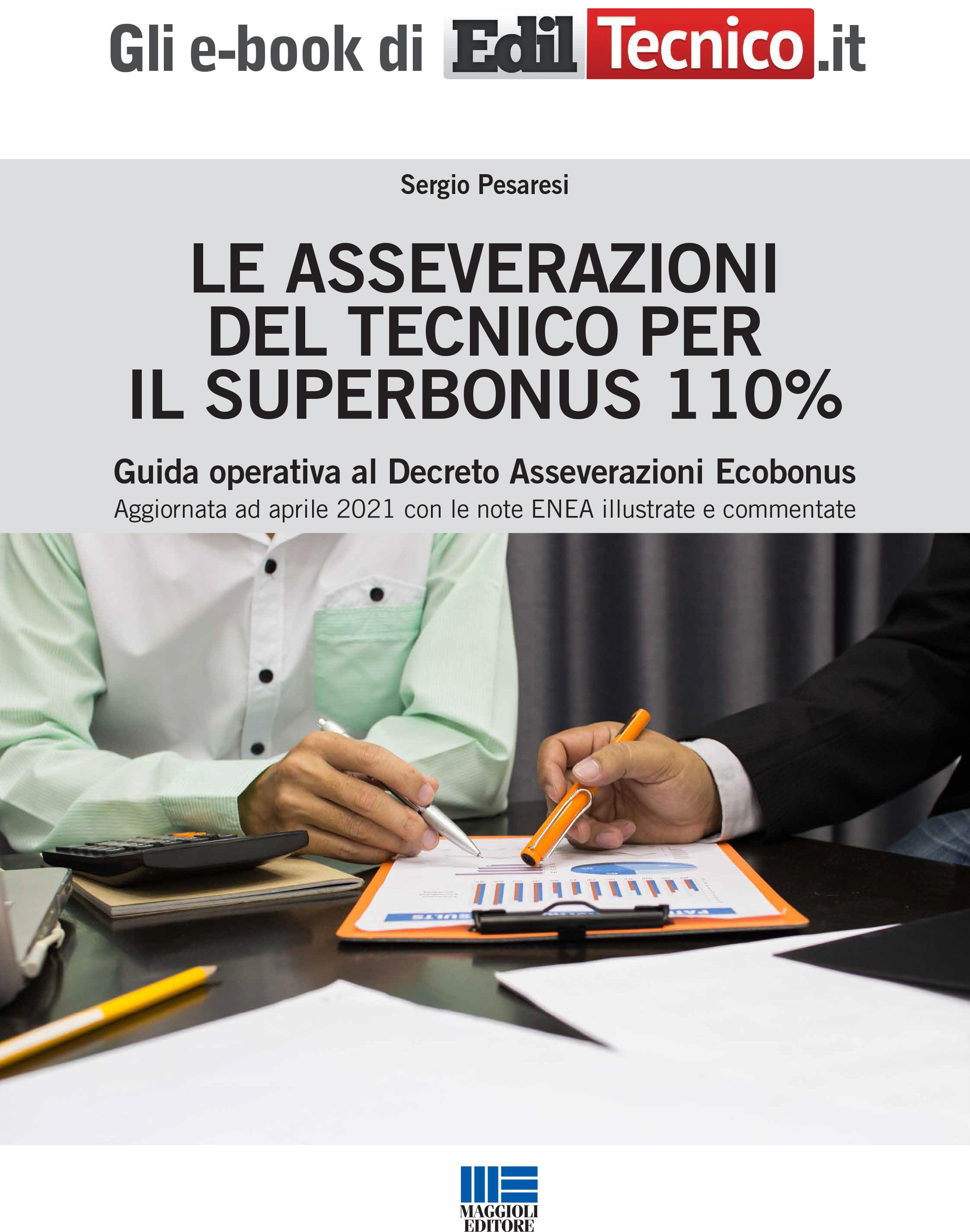 Le asseverazioni del Tecnico per il Superbonus 110% - e-Book in pdf